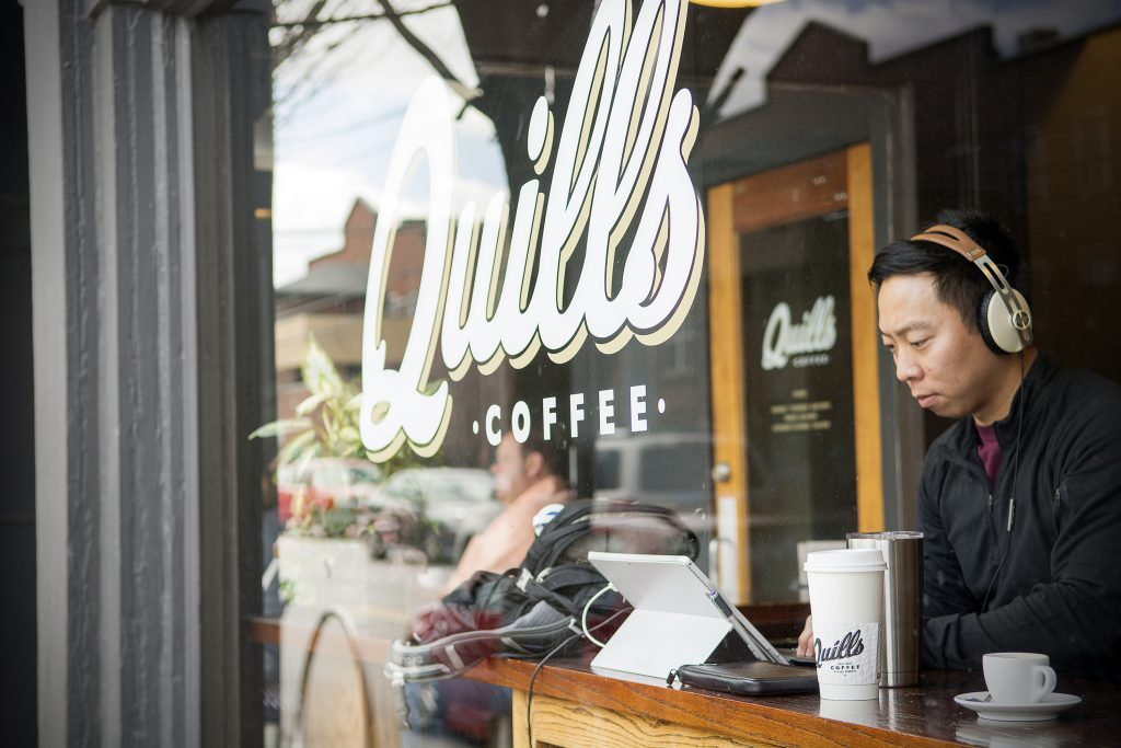 Louisville Hot Spots - Quill's Coffee