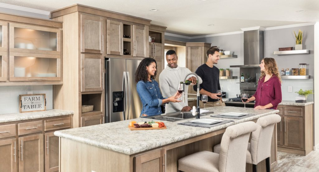 Kitchens in new home trends for 2019
