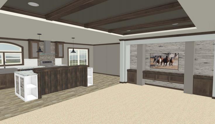 new home trends 2019 interior rendering