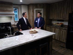 Kentucky Gov. Matt Bevin Tours Homes