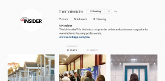 MHInsider social media channels Instagram