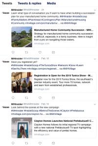 MHInsider social media channels Twitter