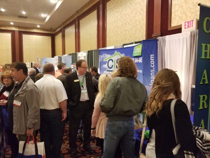 2019 Tunica attendee exhibitor area