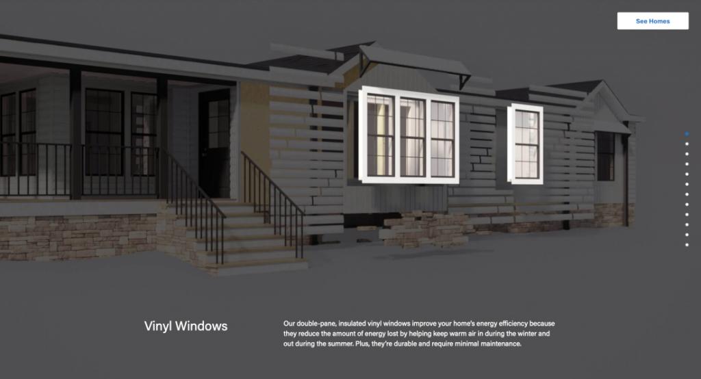 Unbuilt campaign exterior materials and windows