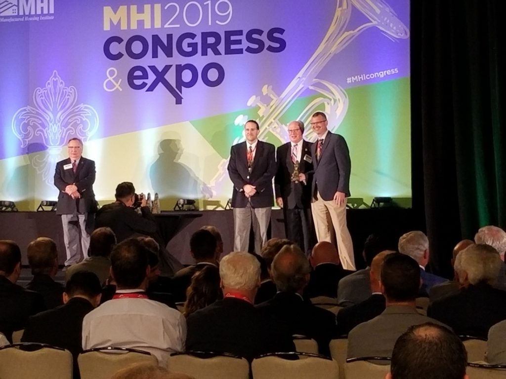 excellence in manufactured housing supplier of the year