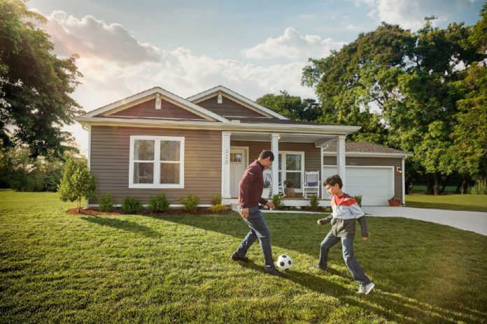 MH Advantage and CHOICEHome front yard soccer game