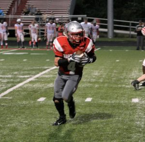 Tim Williams OMHA throws Independence Bowl