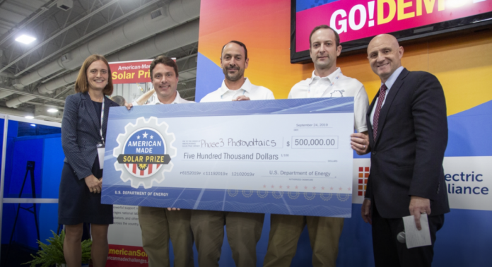 manufactured home solar energy American Made Solar Prize winner