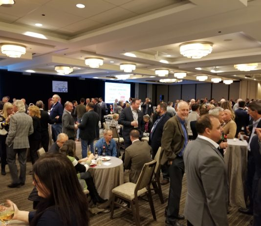 networking room at NCC Fall Leadership Forum