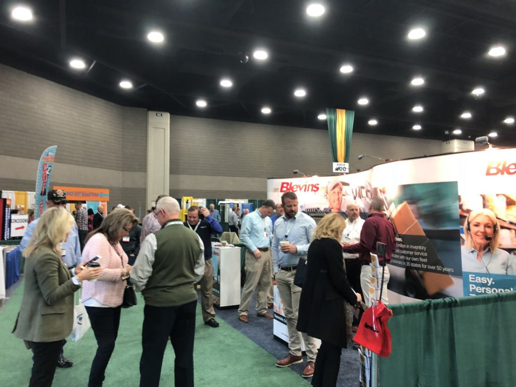 exhibitors and attendees at 2020 Louisville Show