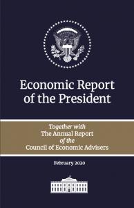 President Trump White House Economic Report