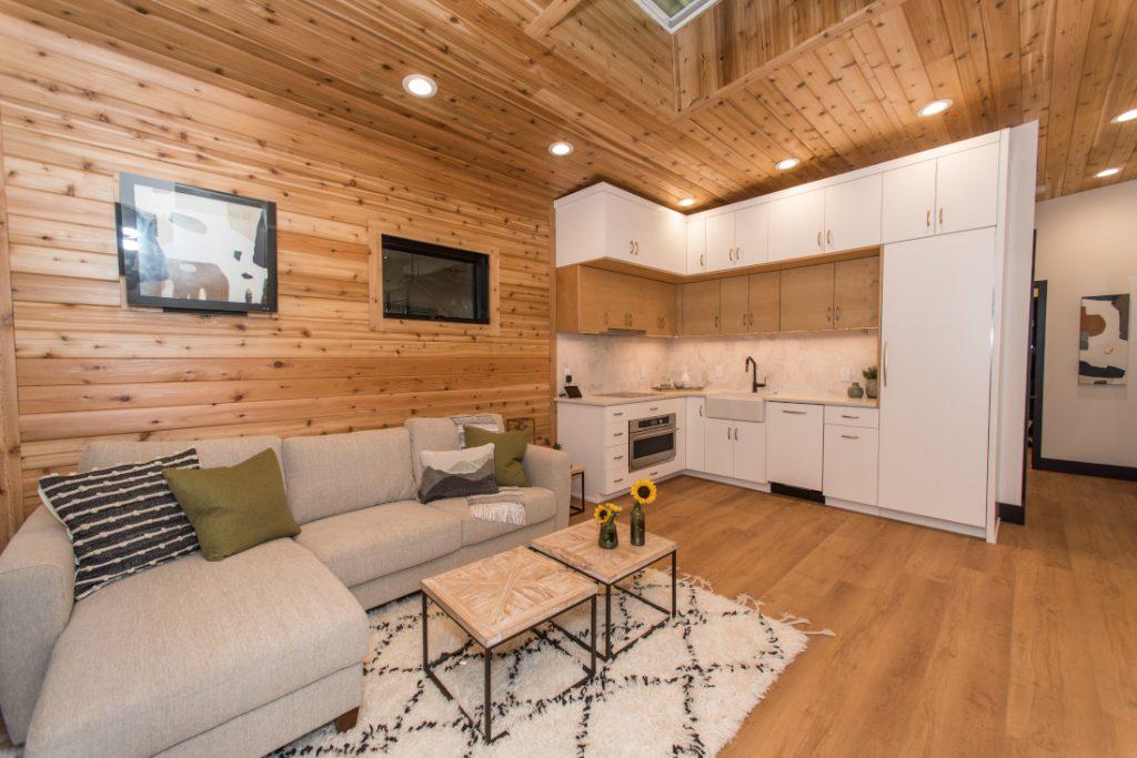 Sundance living room Slate Homes