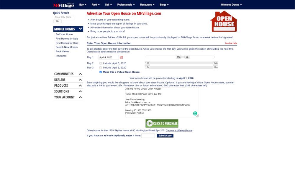 Virtual Open House Free Virtual Home Tour