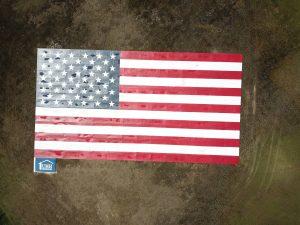 Pikewood Manor American Flag large flag