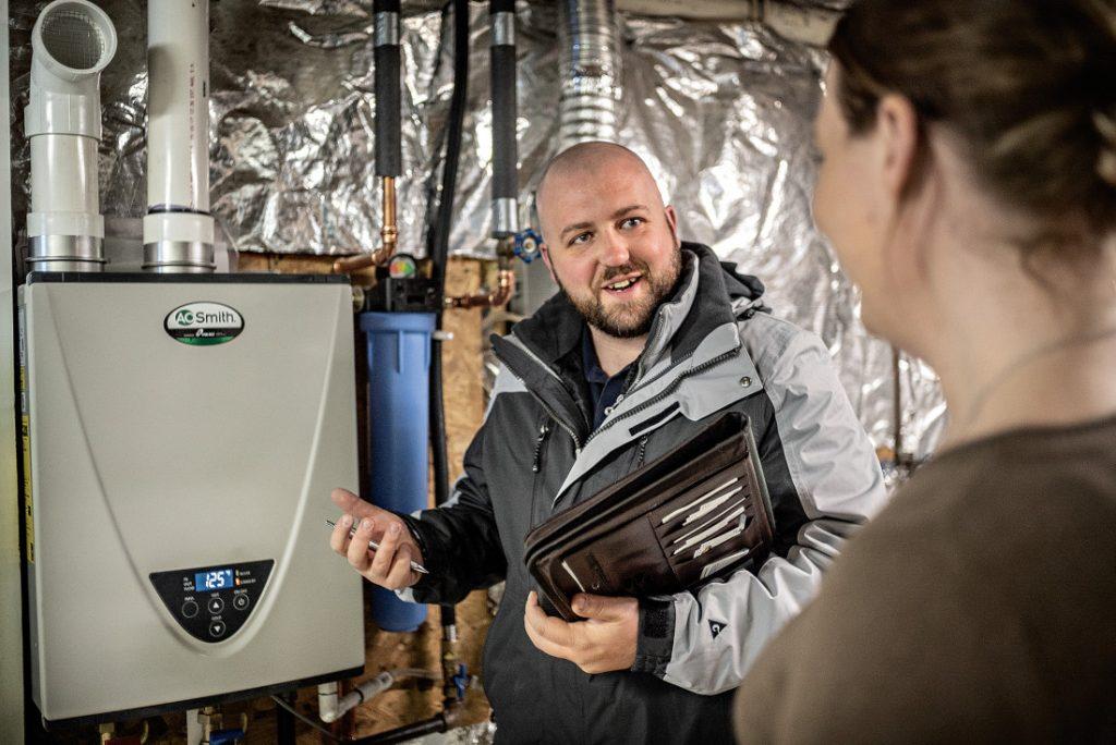 propane in manufactured housing furnace tech