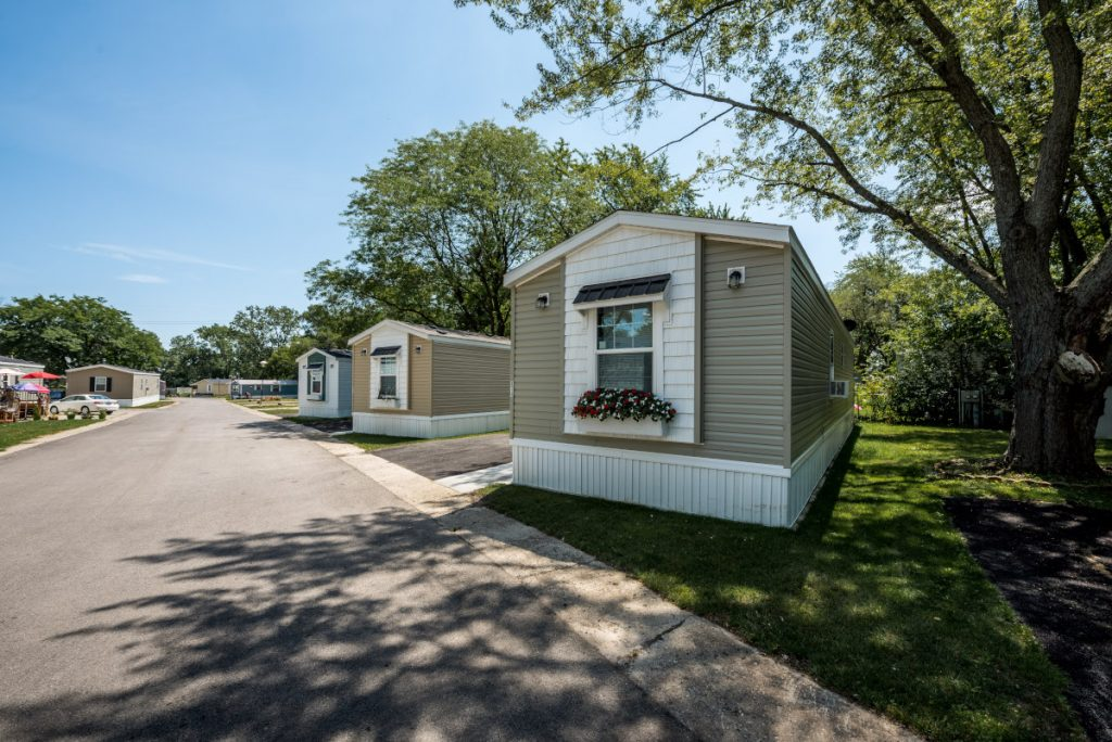 Greenfield project manufactured home community planning