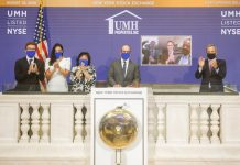 UMH Opening Bell NYSE new community financing