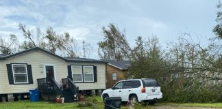 Lake Charles Manufactured Home Endures Hurricane Laura