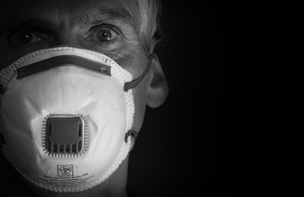mask man residents ailing from covid